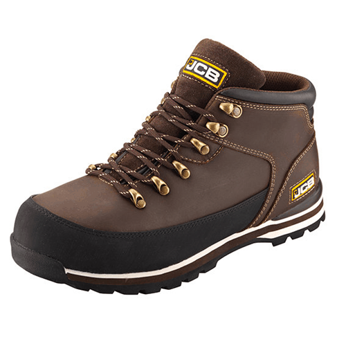 3CX JCB Boot Brown
