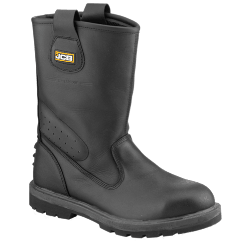 Trackpro JCB Boot Black