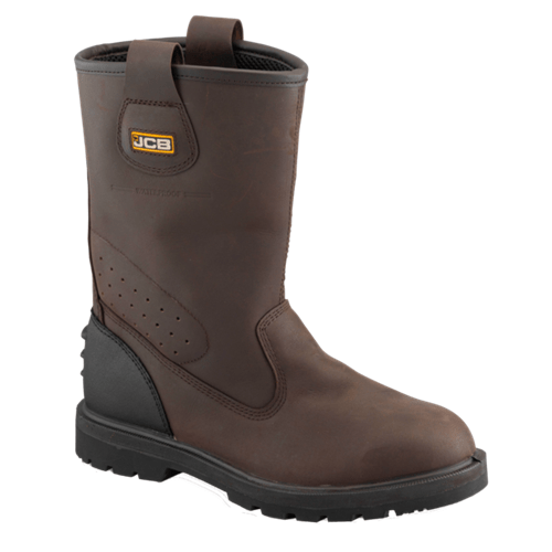 Trackpro JCB Boot Brown