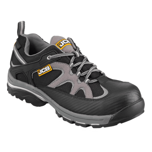 Trak JCB Boot Black-Gray