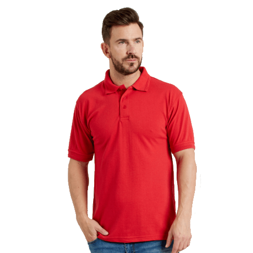 Unisex 50/50 Heavyweight Pique Polo